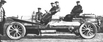 Лесснер перед старом ралли Петербург-Рига-Петербург
