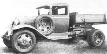 Самосвал ГАЗ-410. 1936 г.