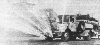 Автомобиль для поливки улиц на шасси ЯГ-4