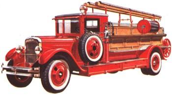 Пожарный автомобиль ПМЗ-1 на шасси ЗИС-11