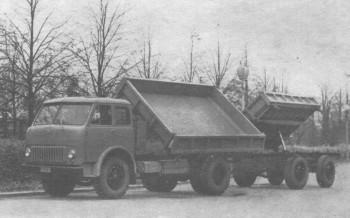 МАЗ-511 с прицепом МАЗ-847