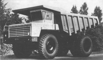 Карьерный самосвал БелАЗ-548А