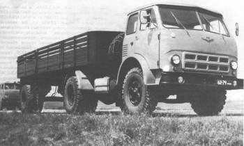 МАЗ-504А с полуприцепом МАЗ-5215Б
