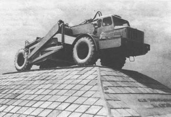 Одноосный тягач МАЗ-529