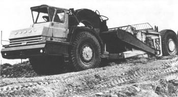 Одноосный тягач БелАЗ-531