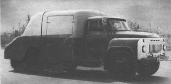 Подметательная машина ПУ-20
