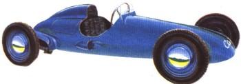 Гоночный автомобиль Салют-М