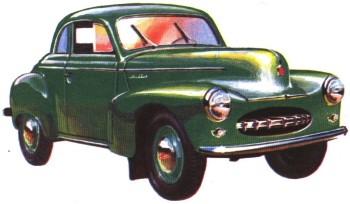 Спортивный Москвич-403Э-424Э-Купе