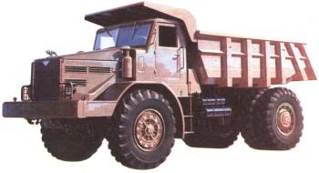 Первый отечественный карьерный самосвал МАЗ-525