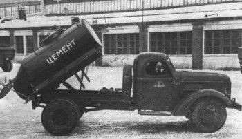 Самосвал-цементовоз КАЗ-601