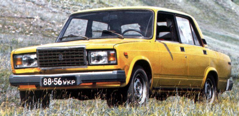 Люксовый вариант ВАЗ-2105 считается самостоятельной моделью — ВАЗ-2107