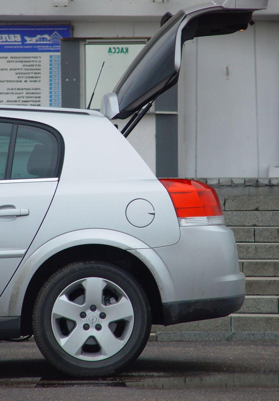 Opel Signum: за стойкой начинается Signum